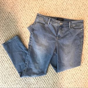Talbots light wash petite jeans, sz 10P